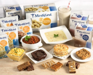 a wide selection of medifast meals