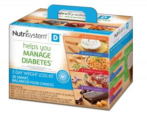 the nutrisystem for diabetics weight loss kit