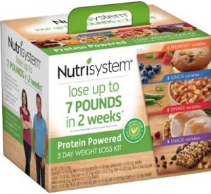 a box of nutrisystem food