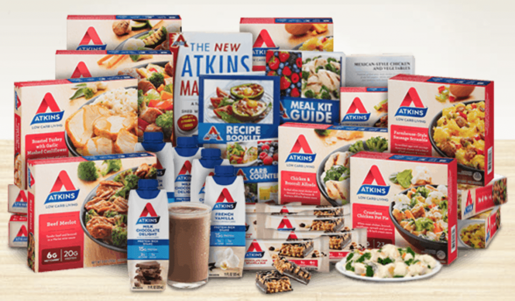 atkins diet meal kits