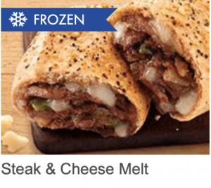 Steak and Cheese Melt for lunch
