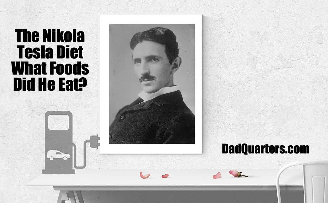 a guide to Nikola Tesla's diet and eating habits