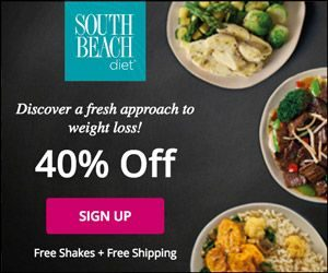 save 40 percent on the south beach diet