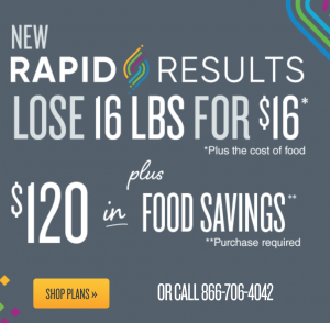 jenny craig rapid results plan