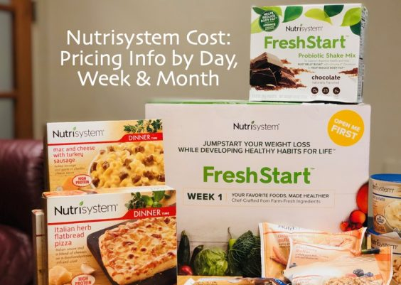 nutrisystem cost and plan pricing info