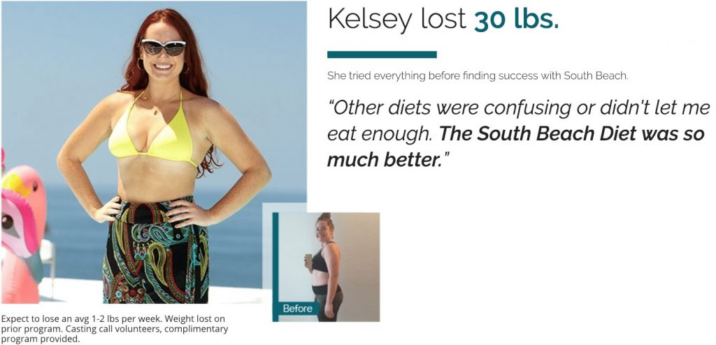 south beach diet success story
