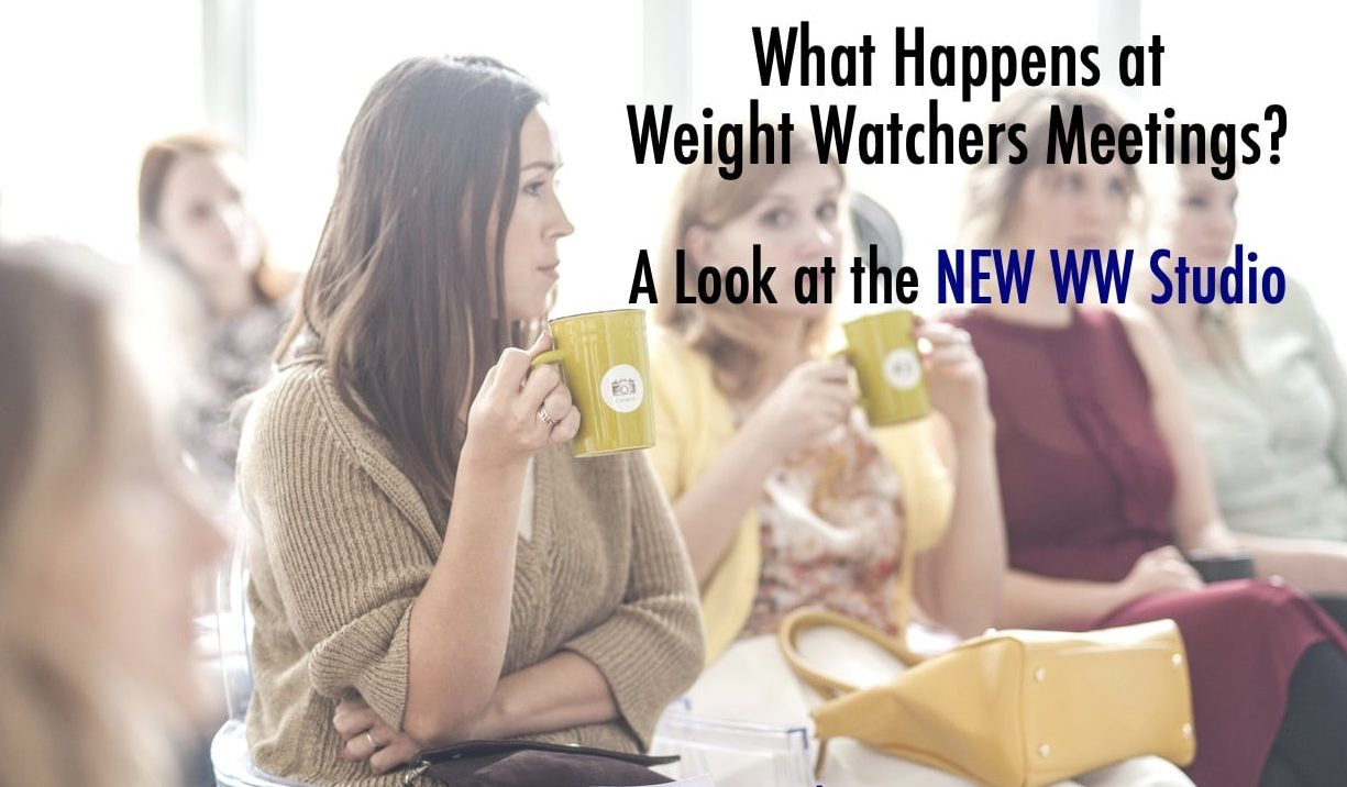 a weight watchers ww studio meeting