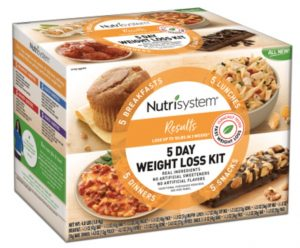 nutrisystem 5 day weight loss kit discount