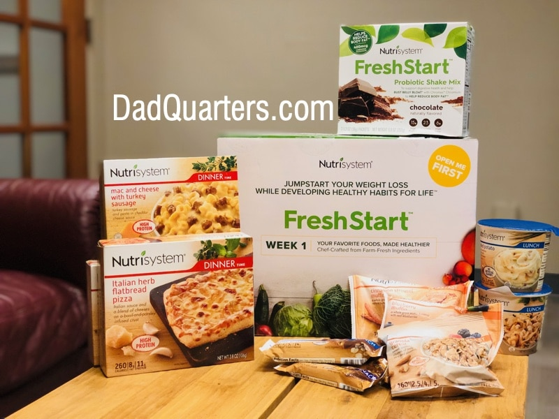 the new nutrisystem freshstart kit