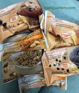 some of the nutrisystem breakfast options