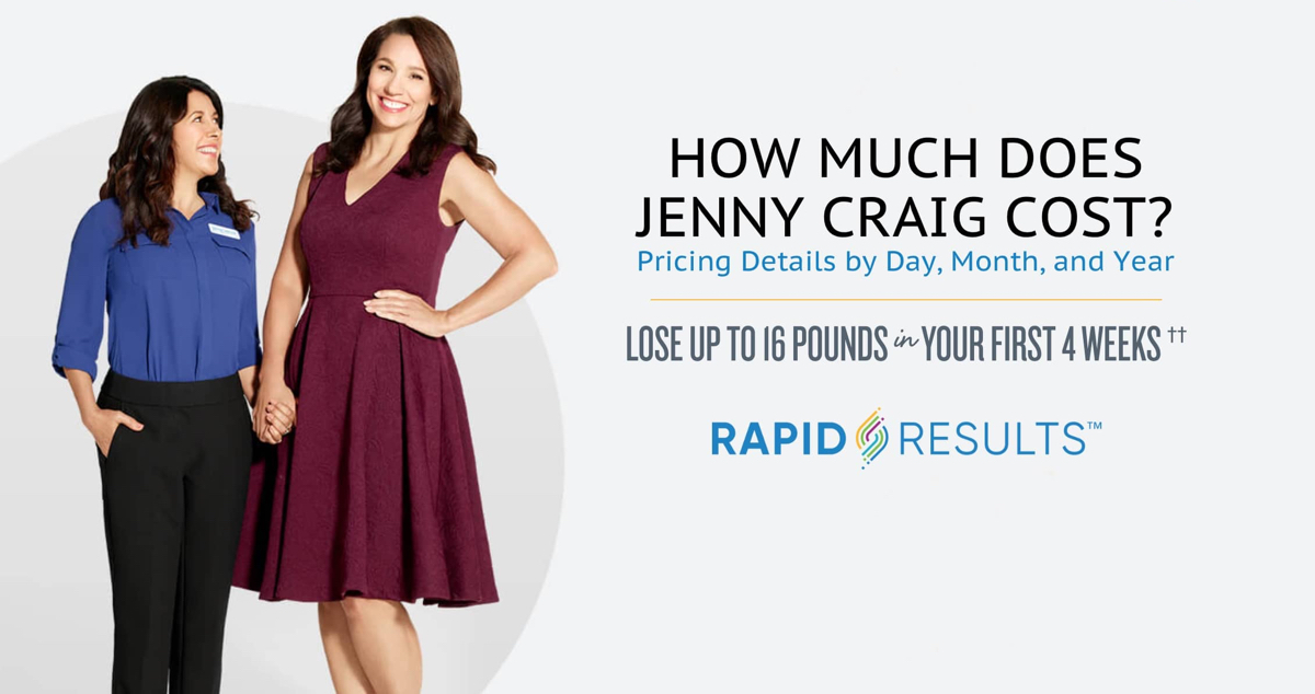 the cost of jenny craig