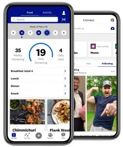 the new weight watchers app
