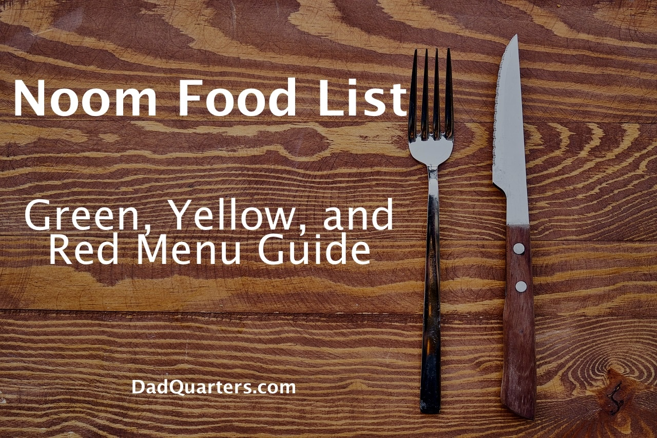 noom food list and menu guide