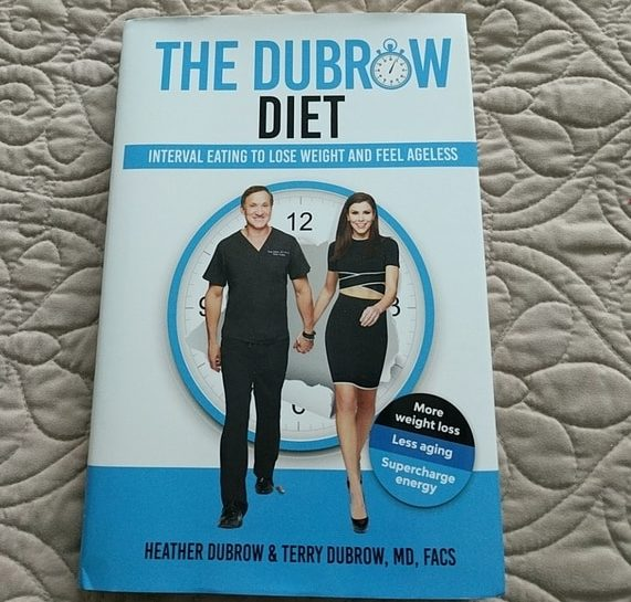 the dubrow diet book on my bed