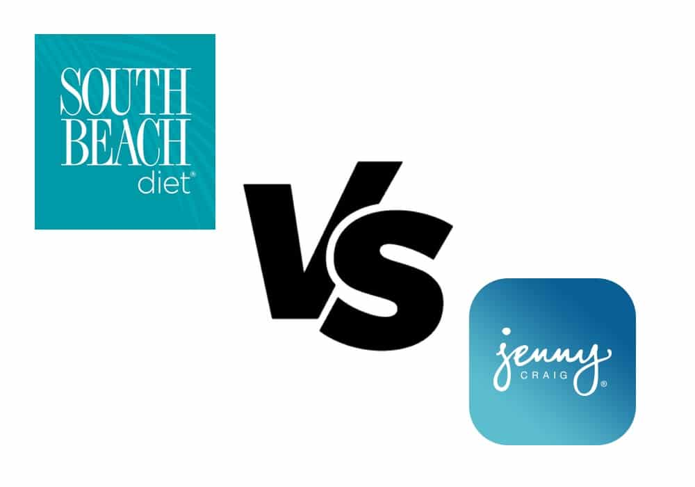 DadQuarters compares the Jenny Craig and South Beach Diet programs