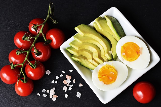 a selection of keto approved diet foods