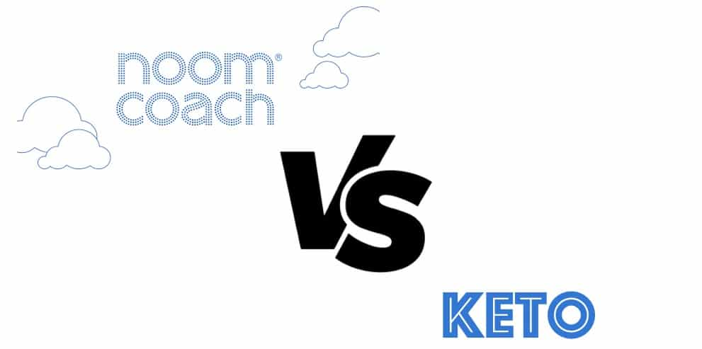 the DadQuarters comparison of the Noom app and keto diet