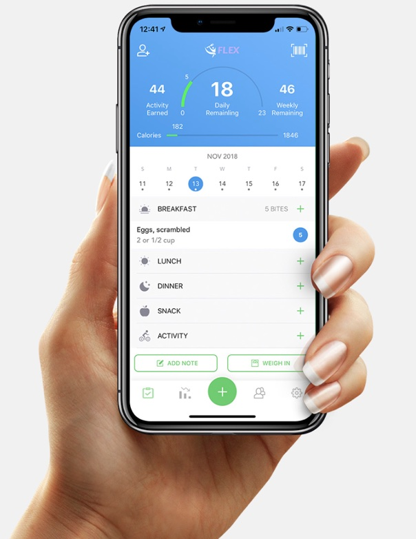 the food tracker